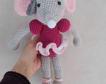 Amigurumi - Mouse ballerina