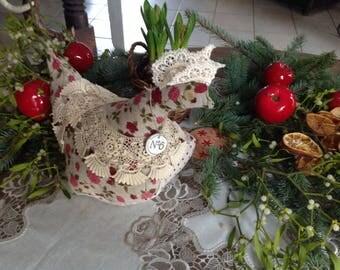 Decorative chicken * SUZETTE *.
