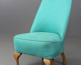 Antique Vintage Bedroom Occasional Nursing Chair
