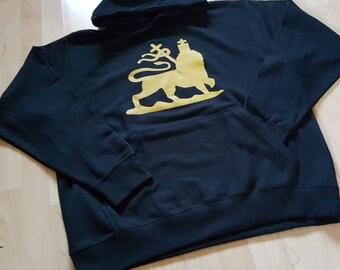 Men's Rastafarian Lion Of Judah Hoodie
