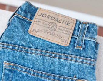 Vintage Jordache denim cut-off shorts