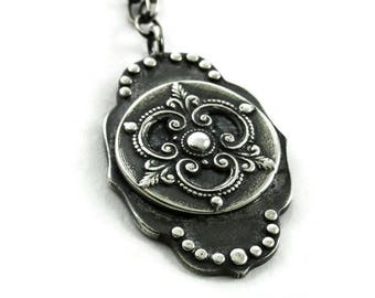 Silver Ravenna Necklace