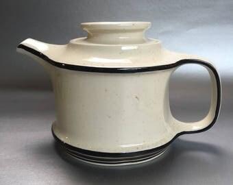 Libby USA Place Setters Vintage Stoneware Teapot MCM