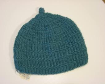 Hand knit Beanie Hat