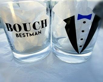 Personalized Whiskey Glass / Custom Rocks Glass / Personalized Glass / Groomsmen Gift / Groomsmen Glass / Best Man Gift / Personalized Gift
