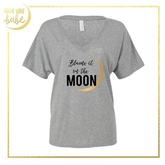 Moon glitter rose gold t shirt tank top sweatshirt gifts like this item negle Image collections