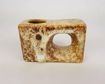 White- brown Vest chimney vase