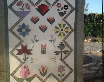 A Year in Flowers Quilt