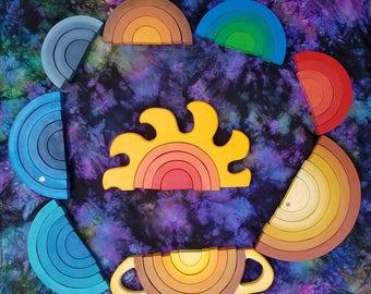 Solar system stacker play set