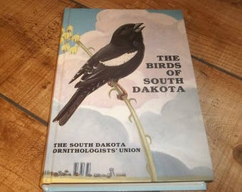 Birds Of South Dakota Book, 1991, Ornithologist' Union, Hummingbirds, Falcons, Goatsuckers, Loons, Storks, Wrens, Woodpeckers, Hawks, Owls