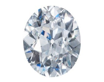 HARRO Antique OVAL CUT Moissanite Loose Gemstones Brilliant Cut Antique Cut Moissanite Color E F Moissanite Engagement Rings