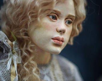 Anastasia doll art doll ooak