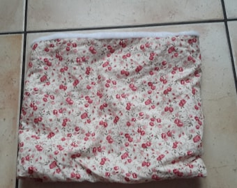 Snood adult pink flower pattern