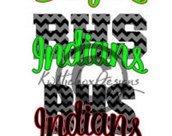 Eagles Svg, Indians Svg, Dxf For Silhouette, Chevron Svg