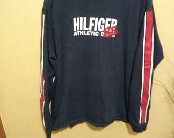 Vintage large oversized Tommy Hilfiger Long Sleeve Shirt