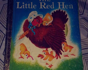 The Little Red Hen A Little Golden Book 1954 new edition of a old favorite 7/10 condition
