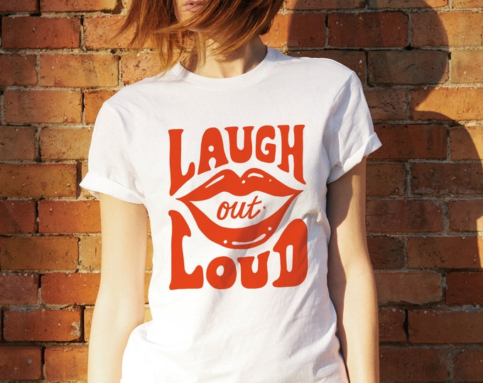 Laugh out loud T-shirt (intro price)