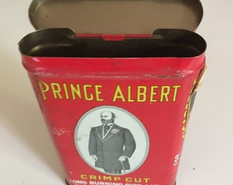 Price Albert Upright Pocket Tobacco Tin