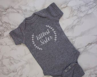 Little Sister Outfit Little Sister Coming Home Outfit Newborn Girl Clothes Little Sister Shirt Baby Girl Clothes Baby Shower Gift