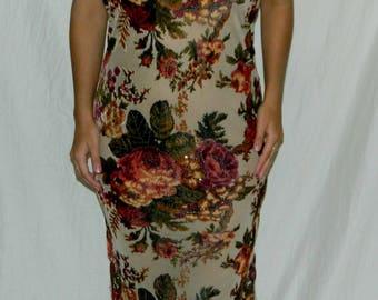 Intricate Beaded Formal Dress