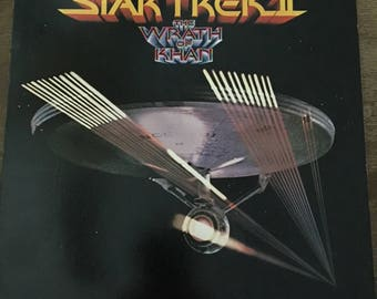 Star Trek II The Wrath of Khan Vinyl Soundtrack LP