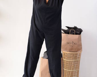 Ramunda Jumpsuit in Flannel