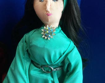 Handmade Cloth Doll Rumiko