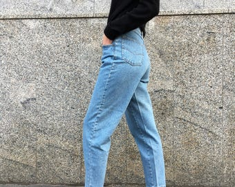 Deastock Mom Jeans High Waist / Mom fit Jeans / Mom fit deadstock 90's / Hight Waist Casucci jeans/ High waisted jeans Casucci size 44