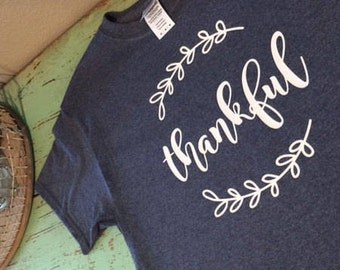 Thankful Shirt Graphic Tee