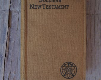 Soldiers' New Testament - 1901