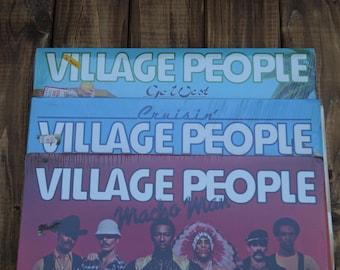 Village People - Set of 3 Albums