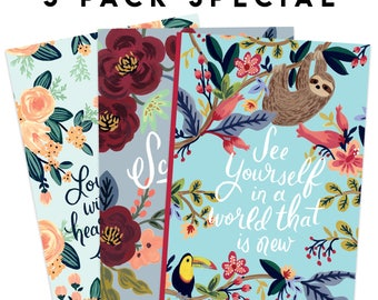 LIMITED TIME SPECIAL - Pack of 3 Notebooks