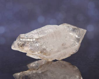 Brandberg Seketal Smoky Phantom Quartz from Namibia | Double Terminated | 1.76"