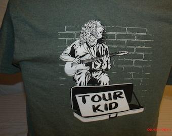 Widespread Panic Shirt.  Michael Houser shirt. tour kid shirt.