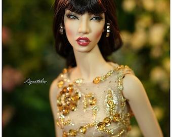 OOAK Demuse Doll- JANET - Dressed Doll