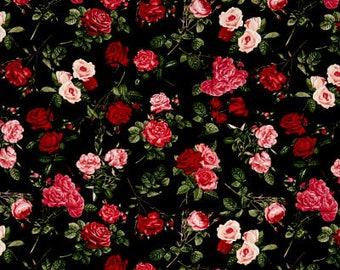 Rose Garden Black / custom fabric