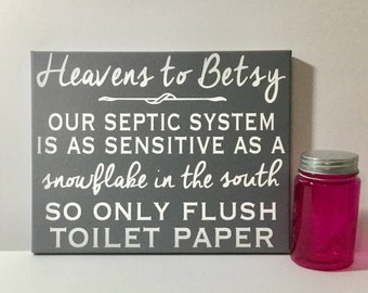 Septic system etsy for 1 bathroom septic system