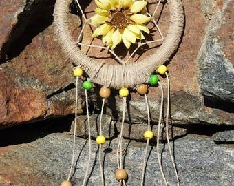Sunflower Dreams Dream Catcher