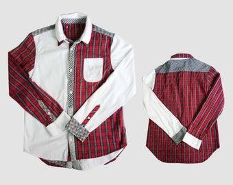 Plaid Shirt Vintage button down