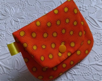 Plain Jane Change Purse - Sunny Dots