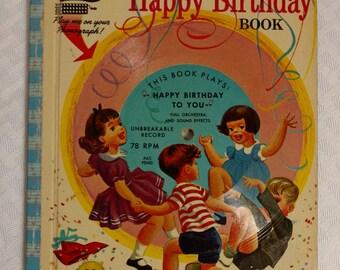 Magic Talking Books The Singing Happy Birthday Book 1955