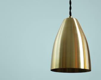 Brass Pendant Light • Neal • Industrial • Modern • Corded Ceiling Pendant Light • Mid Century Modern • Brass Ceiling Light •  Corded Light