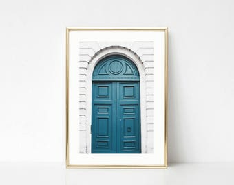Paris Photography, Gallery Wall Prints, Large Wall Art, Paris Decor, Door Photography, Color