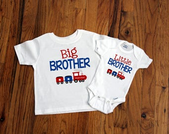 Big Brother - Little Brother - Train Brother Set