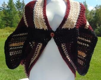 Maroon Blanket Sweater