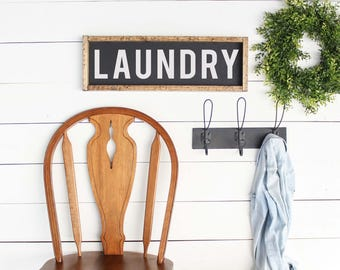 Rustic Laundry Sign Laundry Room Signs Set Of 3 Laundry Room Decor Laundry Room