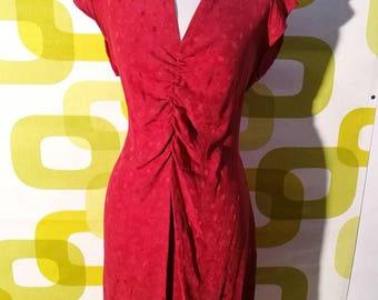 Vintage 1980, made in italy, sartorial, vintage dress