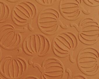 Pumpkin Embossed,  Embossed Cardstock, Embossed Sheets, Embossed Card Fronts