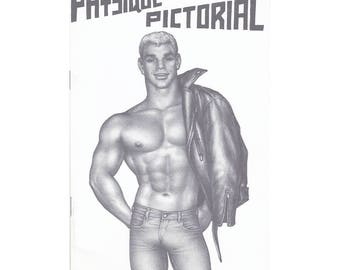 """Vol.12 No.3 - Uncirculated Vintage Issue Of Physique Pictorial -  Featuring """"Cycle Buddies"""" Illustrations"""