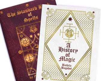 Harry Potter Hogwarts School Books - Set of Two